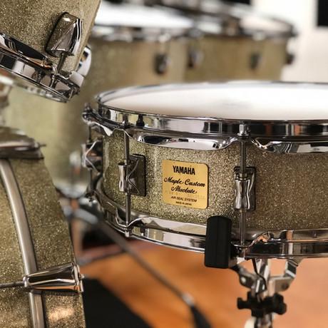 Yamaha Birch Custom 14x5 snare drum