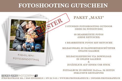 """Gutschein Familienfotoshooting-Paket """"Maxi"""""""