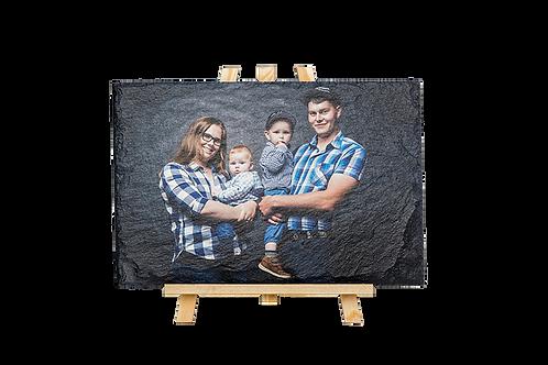 Foto auf Schiefersteinplatte 30x20cm