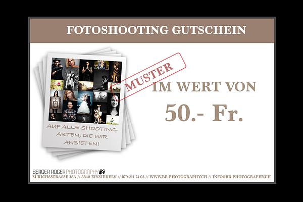 Fotoshooting Gutschein Freibetrag