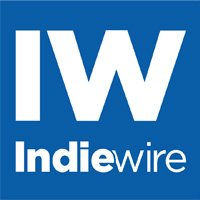 Indiewire Logo with white text on blue background that says IW Indiewire