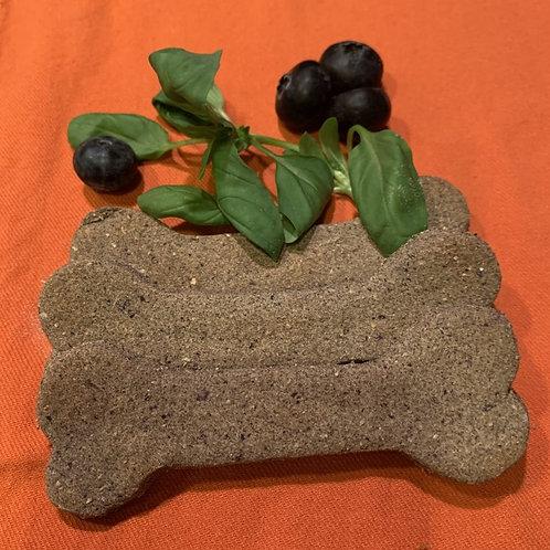 Blueberry Basil Buckwheat Bones