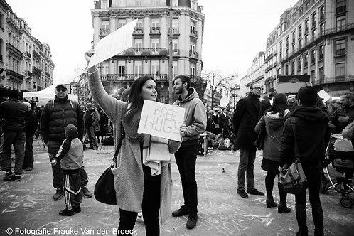 FREE HUGS BRUSSELS, Belgium 2016