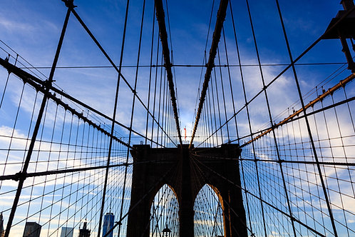 NY, Brooklyn Bridge 2016