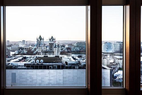 London Bridge Window, 2018