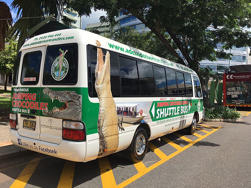 Jumping Crocodile Shuttle Bus
