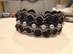 Black & Silver Waves