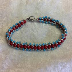 Crystal Chevron Bracelet