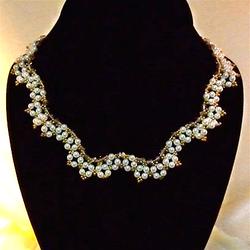 Princess Scalloped Necklace