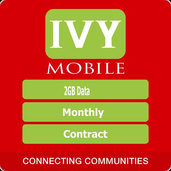 IvyMobile 2Gb data