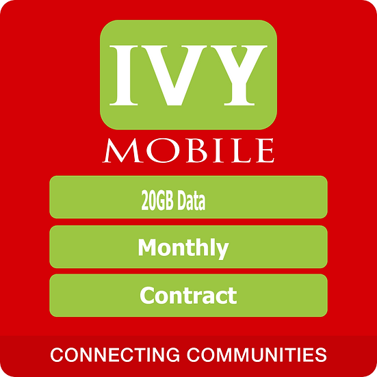 IvyMobile 20Gb data