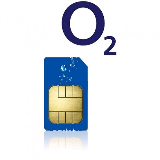 O2, 3GB, Unlimited Minutes and Unlimited Texts, 5G Sim