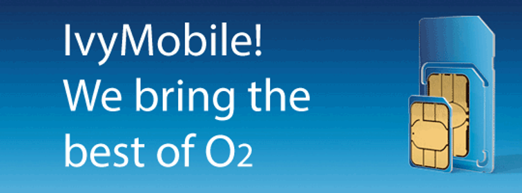Ivy mobile, we bring the best of O2