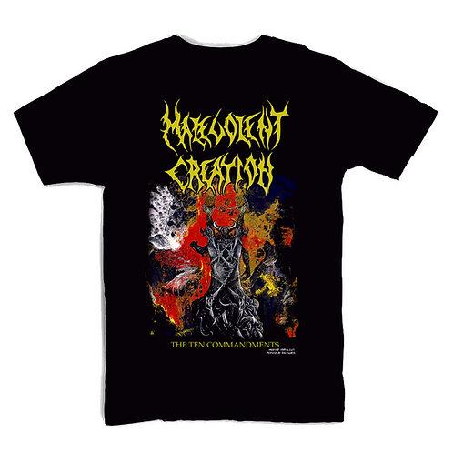 Malevolent Creation The Ten Commandments T-shirt