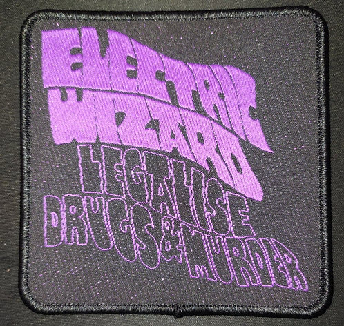 Electric Wizard LD&M Woven Patch