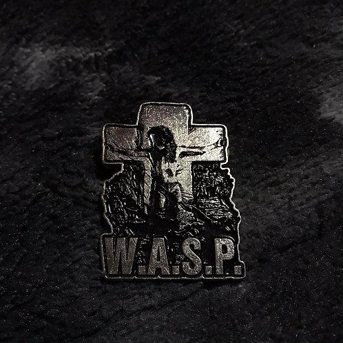 W.A.S.P. Metal Pin