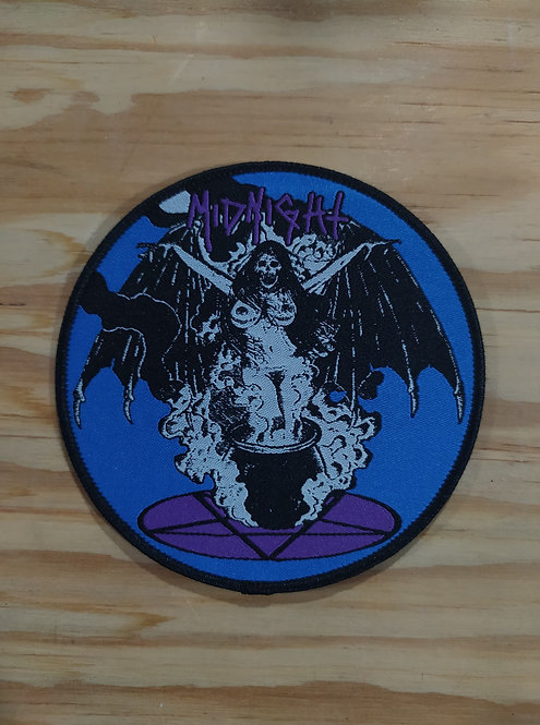 Midnight Circle Woven Patch
