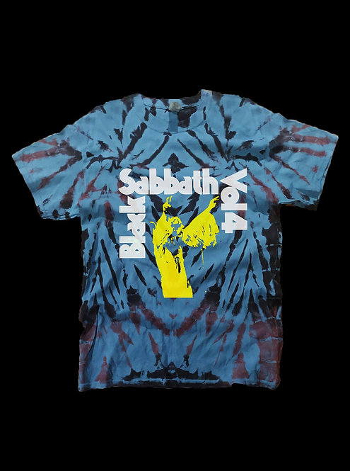 Black Sabbath Vol 4 Tie Dye T-shirt