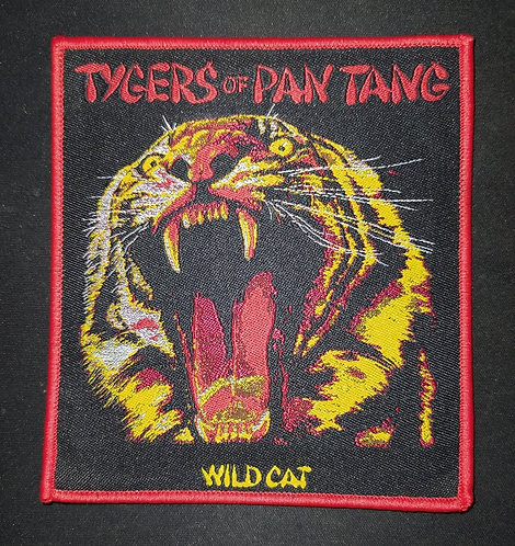 Tygers Of Pan Tang Woven Patch