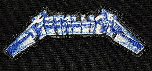 Metallica logo patch