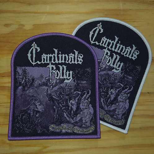 Cardinals Folly woven patch