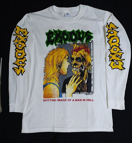Exodus Spitting image ... in hell Long Sleeve
