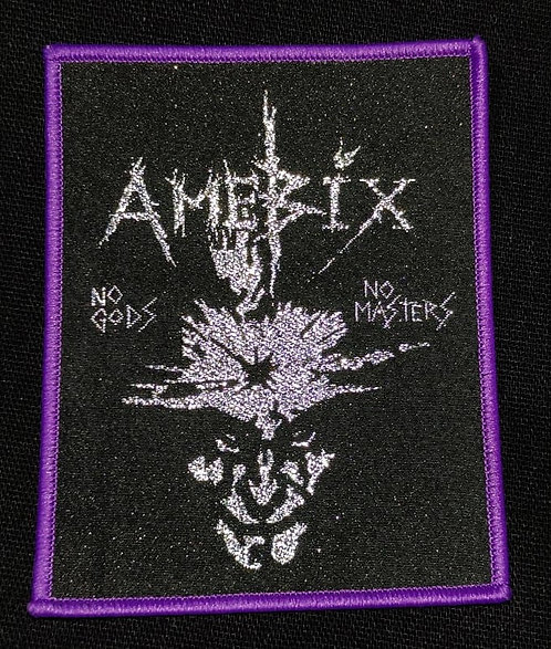 Amebix Woven Patch