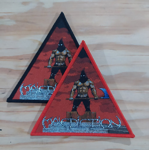 Malediction Woven Patch