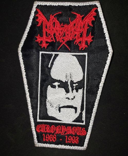 Mayhem Coffin Patch