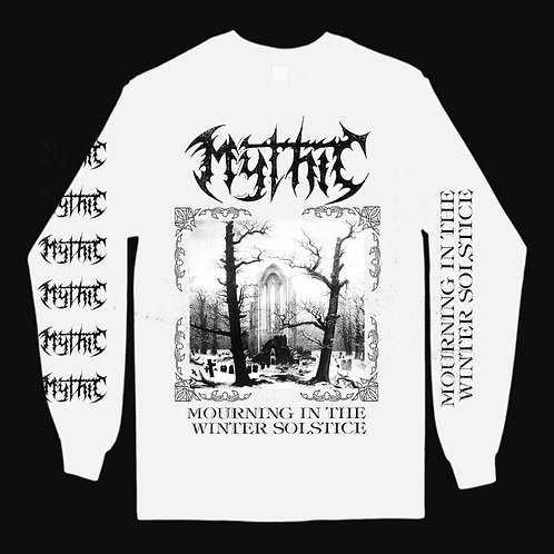 Mythic-Mourning In The Winter Solstice-White Long Sleeve Pre-sale