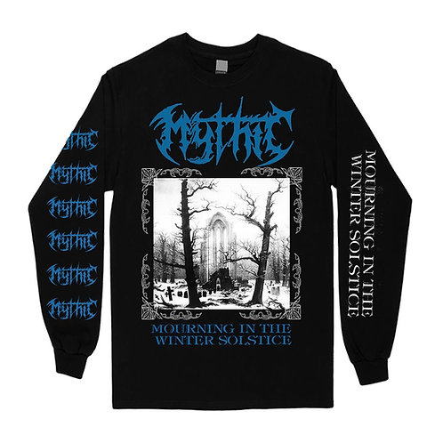 Mythic-Mourning In The Winther Solstice-Black Long Sleeve