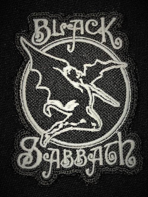 Black Sabbath embroidered 1
