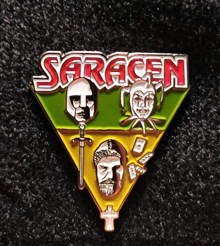 Saracen Official Pin