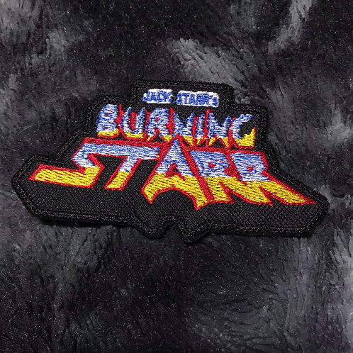 Burning Starr Embroidered Patch
