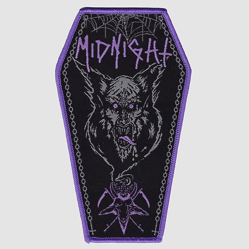 Midnight Woven Patch Coffin