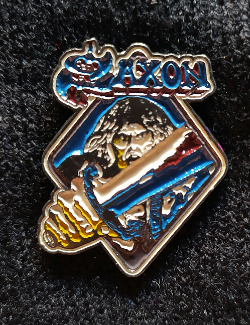 Saxon Enamel pin