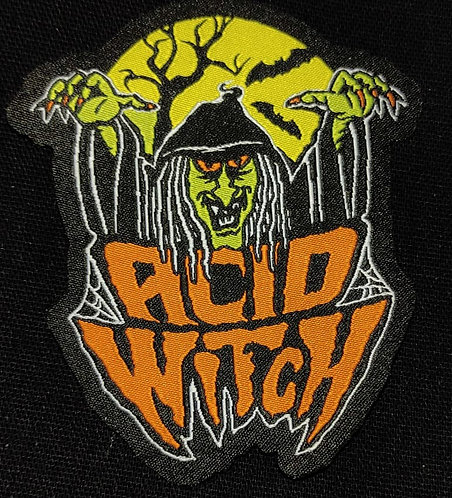 Acid Witch Woven Patch