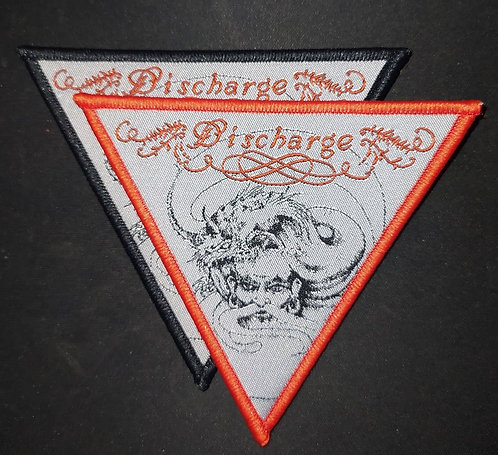Discharge Woven Patch