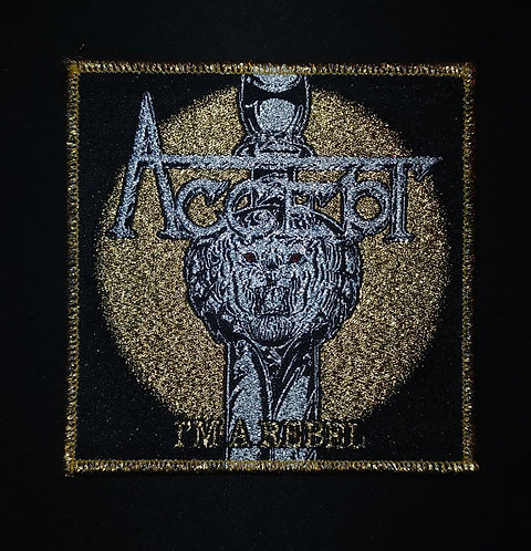 Accept Woven Patch