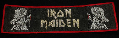 Iron Maiden Vintage design stripe patch