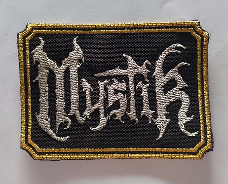 Mystik Official Embroidered Patch
