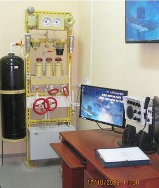 УДО системы азотного пожаротушения