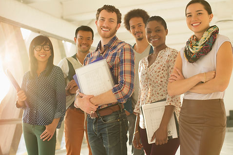 group, collaboration, young adults, communication, individuals
