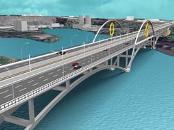 DEVLET BAHÇELİ STEEL ARCH BRIDGE
