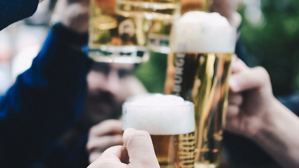 24. februar: Bier-fest m. fadøl ad libitum, dans og musik