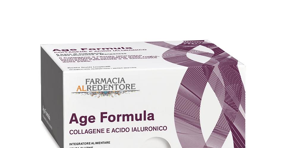 AGE FORMULA Integratore alimentare di Collagene e Acido Ialuronico