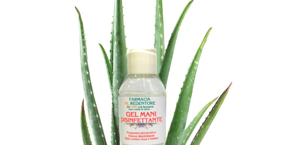 Gel Mani Disinfettante con Aloe Vera