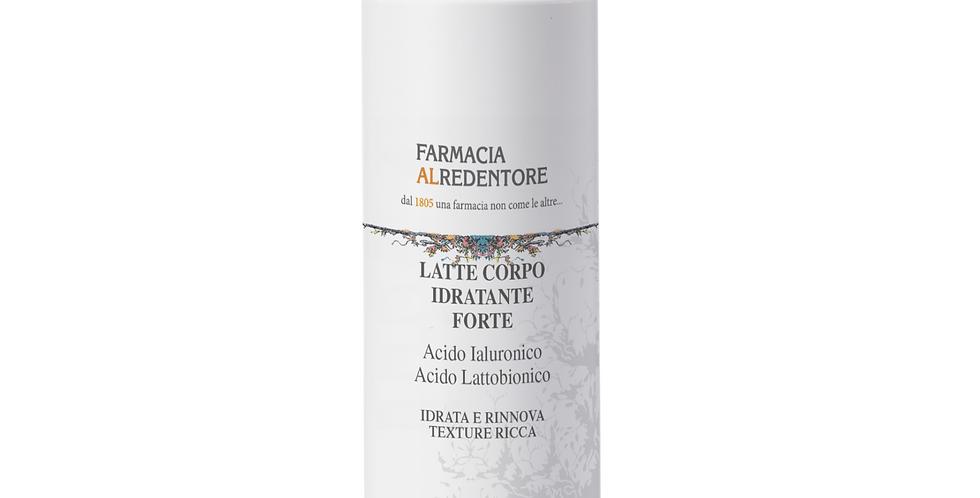 LATTE CORPO IDRATANTE FORTE con Acido Ialuronico e Acido Lattobionico 250ml