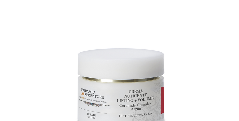 CREMA NUTRIENTE LIFTING + VOLUME - Ceramide complex e Argan 50ml