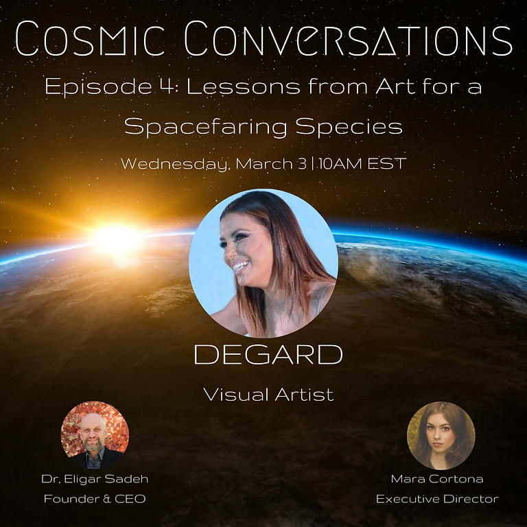 Cosmic Conversations Episode 4: Lessons from Art for a Spacefaring Species